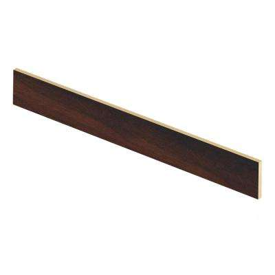 Maple Sevilla 47 in. Length x 1/2 in. Deep x 7-3/8 in. Height Laminate Riser to be Used with Cap A Tread