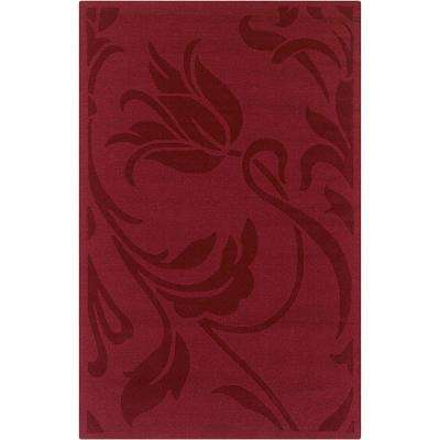 Platoon Red 5 ft. x 8 ft. Area Rug