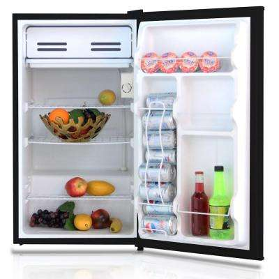 3.3 cu. ft. Mini Refrigerator in Black