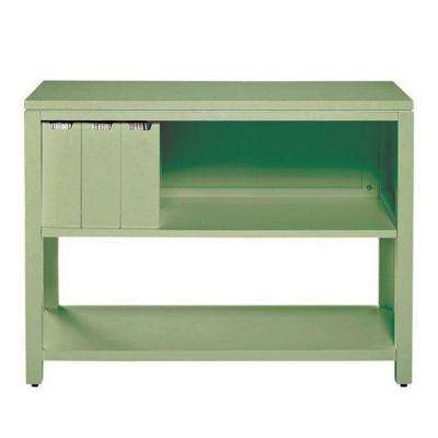 42 in. W Rhododendron Leaf Craft Space Storage Console