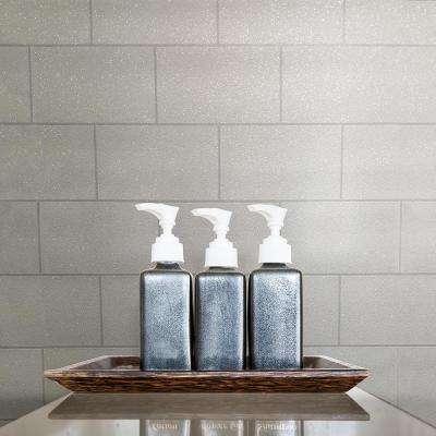 56.4 sq. ft. Joan White Tile Wallpaper