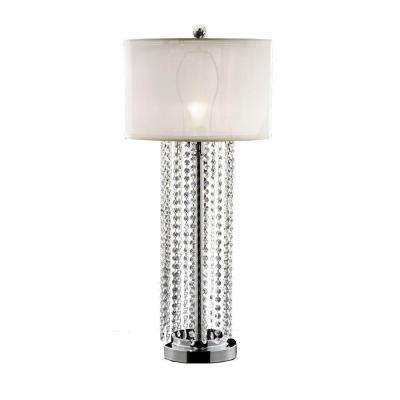 30.5 in. Chrome Table Lamp-DISCONTINUED
