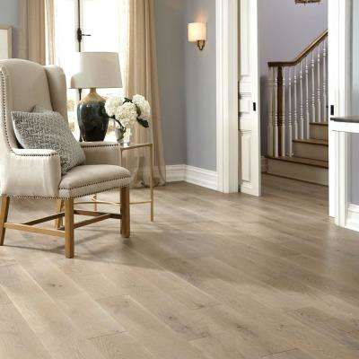 Castlebury Stonington Eurosawn Oak 3/8 in. T x 6 in. W x Random Length Click Eng Hardwood Flooring (30.5 sq. ft. / case)