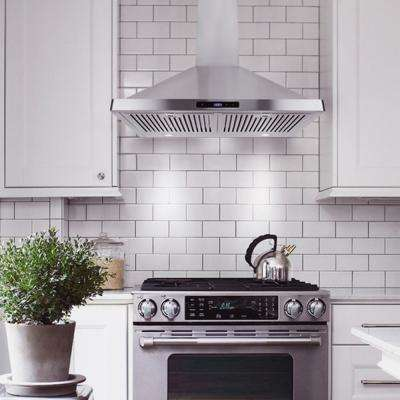 30 In Ducted Range Hood Stainless Steel