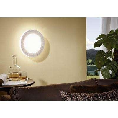 Carpi 1 Matte Nickel LED Ceiling Light