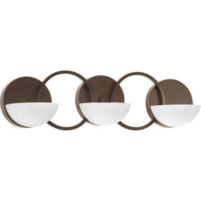 Engage Collection 3-Light Antique Bronze Bath Light