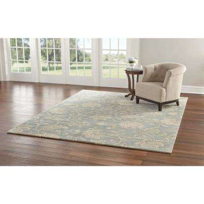 Aileen Blue 9 ft. x 12 ft. Area Rug