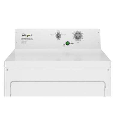 7.4 cu. ft. 240-Volt White Commercial Electric Vented Dryer
