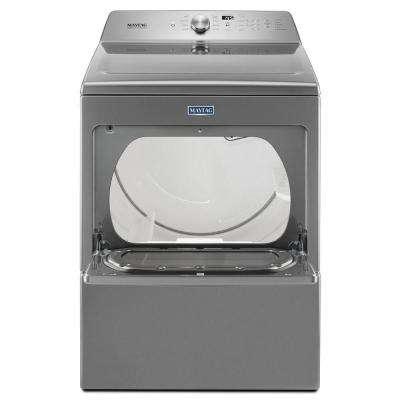 7.4 cu. ft. 240-Volt Metallic Slate Electric Vented Dryer with Intellidry Sensor
