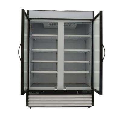 X-Series 48 cu. ft. Double Door Merchandiser Refrigerator in White