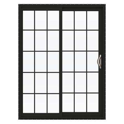 V-2500 Series Vinyl Sliding Patio Door with Grids