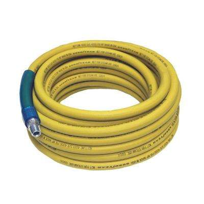 50 in. x 3/8 in. Pressure Washer Hose, Yellow
