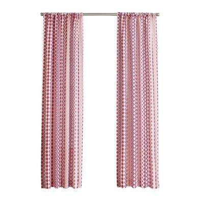 No. 918 Millennial Molly Heathered Print Curtain Panel