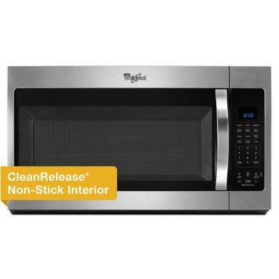 30 in. W 1.9 cu. ft. Over the Range Microwave Hood in Stainless Steel