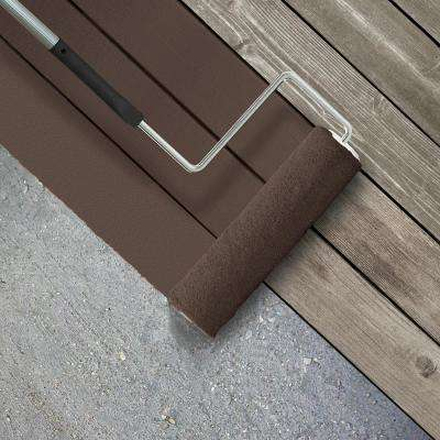 5 gal. #SC-105 Padre Brown Smooth Solid Color Exterior Wood and Concrete Coating