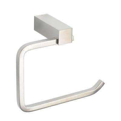 Ottimo Single Post Toilet Paper Holder in Brushed Nickel