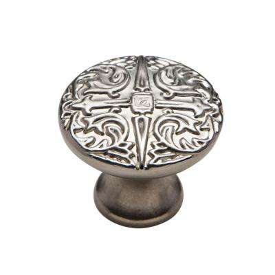 1-1/8 in. Muted Nickel Cabinet Knob