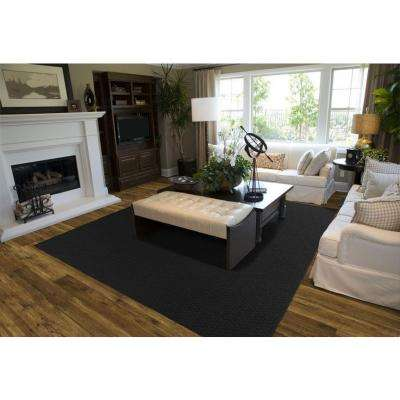 Town Square Black 8 ft. x 10 ft. Area Rug