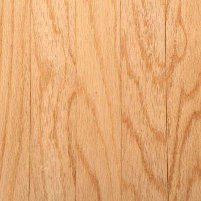 Oak Rustic Natural 3/8 in. Thick x 3 in. Wide x Random Length Engineered Hardwood Flooring (30 sq. ft./case)