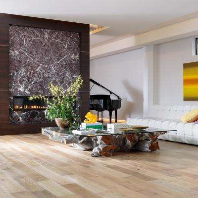 French Oak Delano 3/8 in. T x 6-1/2 in. W x Varying L Engineered Click Hardwood Flooring (23.64 sq. ft. / case)