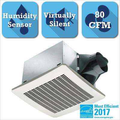 Signature Series 80 CFM Humidity Sensing Ceiling Exhaust Bath Fan