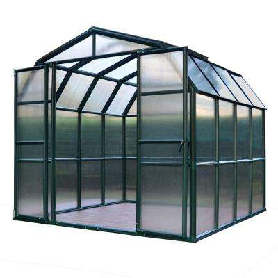 Grand Gardener 8 ft. x 8 ft. Opaque Greenhouse