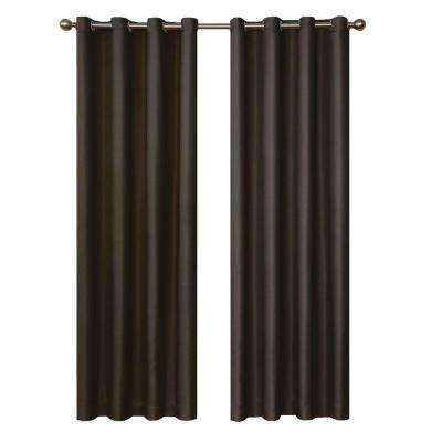Curtains Ideas cheap brown curtains : Curtains & Drapes - Blinds & Window Treatments - The Home Depot