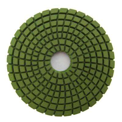 4 in. #800 Grit Wet Diamond Polishing Pad for Stone