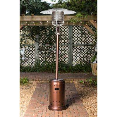 46,000 BTU Aged Chestnut Gas Patio Heater