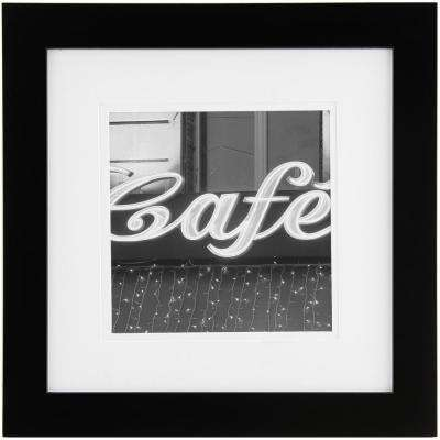 8 in. x 8 in. Black Picture Frame