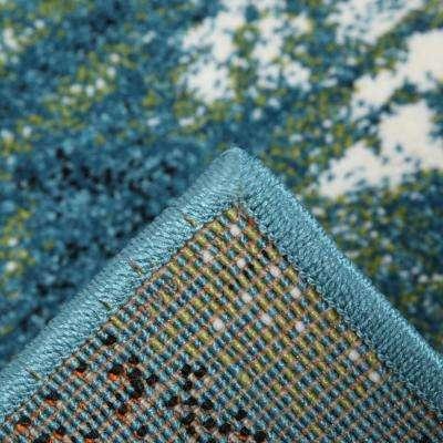 Journey Blue/Green 8 ft. x 10 ft. Area Rug