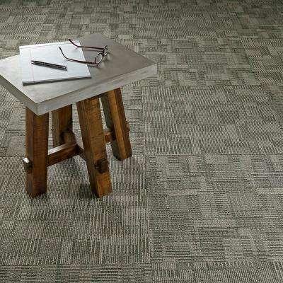 Royce Sector Loop 24 in. x 24 in. Carpet Tile (18 Tiles/Case)