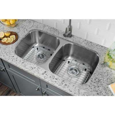 Undermount 29 in. 18-Gauge Stainless Steel Kitchen Sink in Brushed Stainless