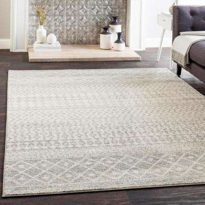 Laurine Gray 8 ft. x 10 ft. Area Rug