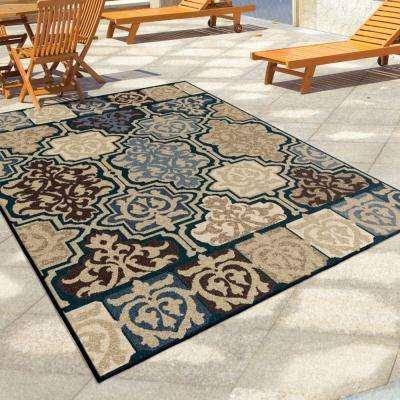 Artessa Multi 5 ft. x 8 ft. Indoor/Outdoor Area Rug