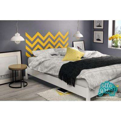 step one pure white queen platform bed - Bed Frame No Headboard