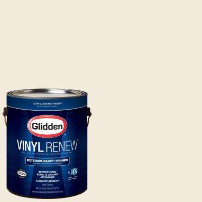 1 gal. #HDGWN41U Swiss Coffee Low-Lustre Exterior Paint with Primer