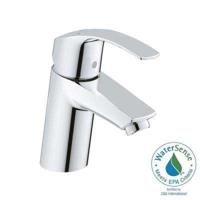 Eurosmart New Single Hole Single Handle Bathroom Faucet in StarLight Chrome