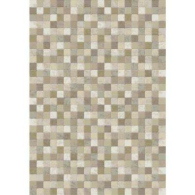 Eclipse Beige 2 ft. x 3 ft. 11 in. Indoor Accent Rug