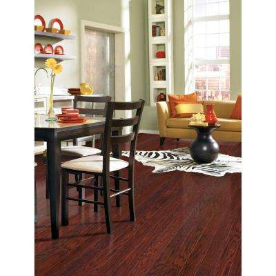 Scraped Oak Cabernet 1/2 in. Thick x 5 in. Wide x Random Length Engineered Hardwood Flooring (31 sq. ft. / case)