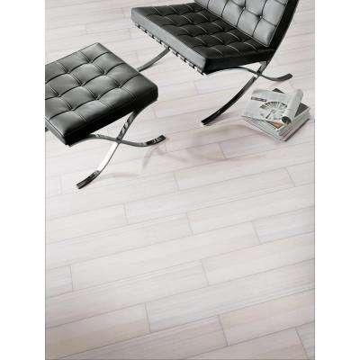 Fresco Blanco 6 in. x 36 in. Glazed Porcelain Floor and Wall Tile (36 cases / 486 sq. ft. / pallet)