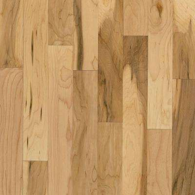 American Original Country Natural Maple 3/8 in.T x 5 in.W x Varied Lng Eng Click Lock Hardwood Flooring(22sq.ft./case)