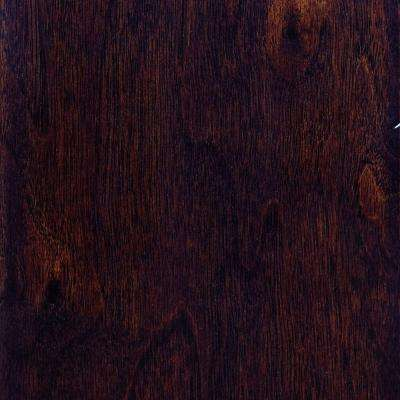 Take Home Sample - Hand Scraped Walnut Java Solid Hardwood Flooring - 5 in. x 7 in.