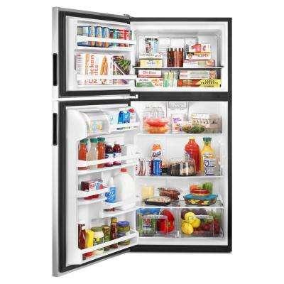 18.2 cu. ft. Top Freezer Refrigerator in Stainless Steel