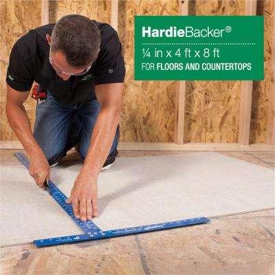 HardieBacker 1/4 in. x 4 ft. x 8 ft. Cement Backerboard