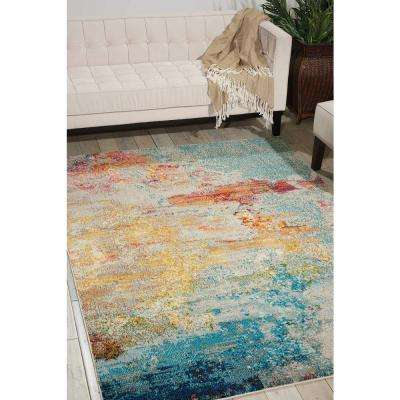 Celestial Sealife 8 ft. x 11 ft. Area Rug