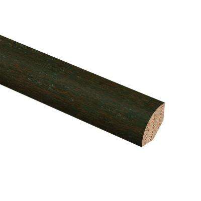 HS Strand Woven Bamboo Warm Espresso 3/4 in. Thick x 3/4 in. Wide x 94 in. Length Hardwood Quarter Round Molding