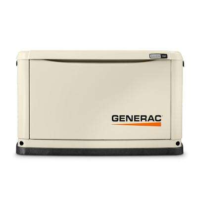 9,000-Watt (LP)/8,000-Watt (NG) Air Cooled Standby Generator with 16 Circuit 100 Amp Automatic Transfer Switch