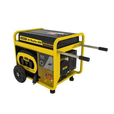 10,000-Watt All Weather Commercial Grade Portable Generator with an Electric Start, 450cc, 15 HP, 100% Copper Alternator
