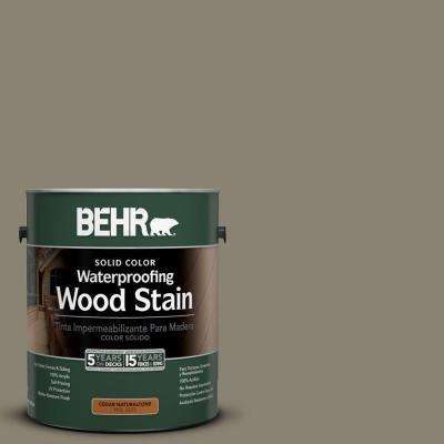 1-Gal. #SC-154 Chatham Fog Solid Color Waterproofing Wood Stain